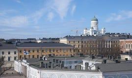 Helsínquia. Finlandia Fotografia de Stock Royalty Free
