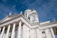 Helsínquia. Finlandia. Catedral Imagens de Stock Royalty Free
