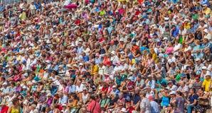 HELSÍNQUIA, FINLANDIA - 29 de julho de 2014: Colorido Imagem de Stock