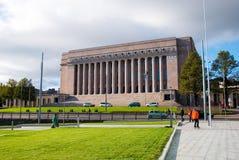 Helsínquia. Finlandia. O parlamento Imagens de Stock