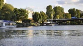 Helsínquia, o 23 de agosto de 2014 - ajardine de Helsínquia em Finlandia Fotografia de Stock