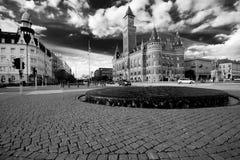 Helsinborg城镇厅。 免版税库存图片