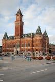 Helsinborg stadshus. Fotografering för Bildbyråer