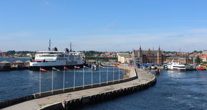 Helsingør, Δανία Στοκ Φωτογραφίες