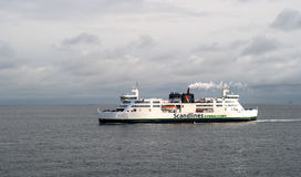 Helsingbog,瑞典- 2016年10月9日:在线赫尔辛堡-赫尔新哥,丹麦的客船 库存图片