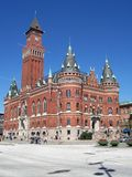 Helsingborg 89. An image of the helsingborg town hall Royalty Free Stock Photo