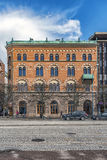 Helsingborg Building Corner Facade Royalty Free Stock Photo