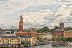 Helsingborg City Center Royalty Free Stock Photo