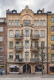 Helsingborg City Centre Building Facade Stock Photos