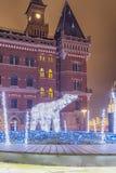 Helsingborg Dromljus niedźwiedź polarny Zdjęcie Stock