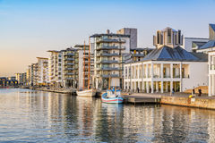 Helsingborg at Dusk Stock Images