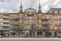 Helsingborg Grand Building Facade Stock Photo
