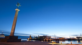 Helsingborg-Hafen Lizenzfreie Stockfotografie