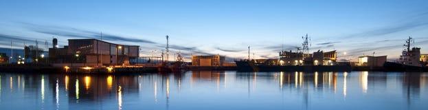 Helsingborg-Hafen Lizenzfreie Stockbilder