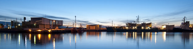 Helsingborg Harbour Royalty Free Stock Images