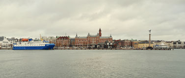 Helsingborg i Sverige Arkivbild