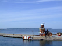 Helsingborg lighthouse 02 Royalty Free Stock Images