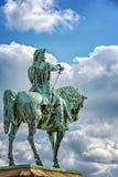 Helsingborg Magnus Stenbock statua obraz stock