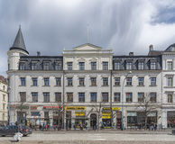 Helsingborg Main Street Building Facade Royalty Free Stock Images