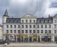 Helsingborg Main Street Building Facade Royalty Free Stock Images