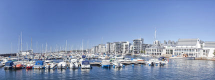 helsingborg marina nowy Sweden Zdjęcia Royalty Free