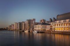Helsingborg marina Royalty Free Stock Image