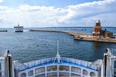 Helsingborg Passenger Ferries Royalty Free Stock Photo