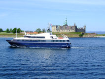 Helsingborg passenger ferry boat 06 Royalty Free Stock Photos