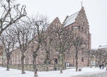 Helsingborg Sankta Maria kyrka Royalty Free Stock Image