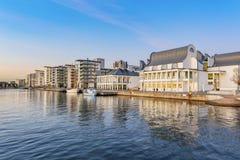 Helsingborg at Sunset Stock Photo