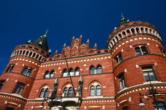 Helsingborg in Sweden:  (town hall) Stock Photo