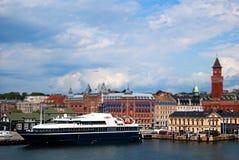 Helsingborg tilt shift Stock Photography