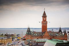 Helsingborg town hall. Sweden Stock Image