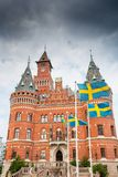 Helsingborg town hall. Sweden Stock Photography