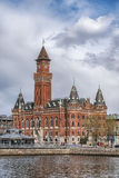 Helsingborg Town Hall in Sweden Royalty Free Stock Image