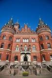 Helsingborg w Szwecja: (urząd miasta) Zdjęcie Stock