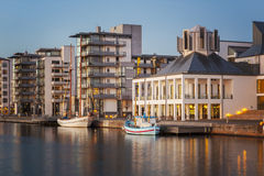 Helsingborg water front Stock Photography