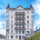 Helsingborg White Building Facade Royalty Free Stock Images