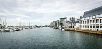 Helsingborg yachthamn Arkivfoto