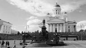 Helsingfors CathedralPlace Arkivbilder