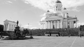 Helsingfors CathedralPlace Arkivbild