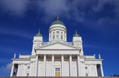 Helsingfors domkyrka Royaltyfri Bild