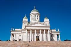 Helsingfors domkyrka, Finland royaltyfri bild