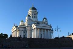 Helsingfors domkyrka - Helsingin tuomiokirkko Fotografering för Bildbyråer
