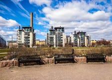 Helsingfors Finland Fotografering för Bildbyråer