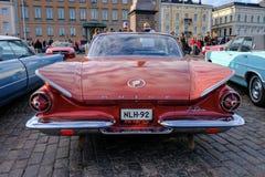 Helsingfors Finland gammal bil Buick Royaltyfri Bild
