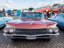 Helsingfors Finland gammal bil Buick Royaltyfria Foton