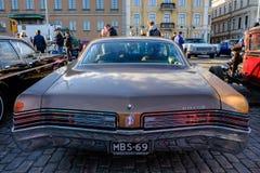 Helsingfors Finland gammal bil Buick Royaltyfria Bilder
