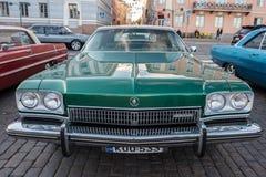 Helsingfors Finland gammal bil Buick Fotografering för Bildbyråer
