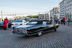 Helsingfors Finland gammal bil Buick Electra 225 Arkivfoto